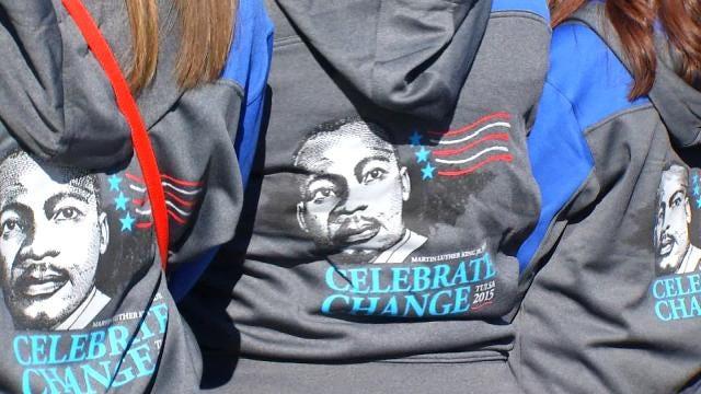 Tulsa Martin Luther King Jr.Parade Inspires Spectators, Participants