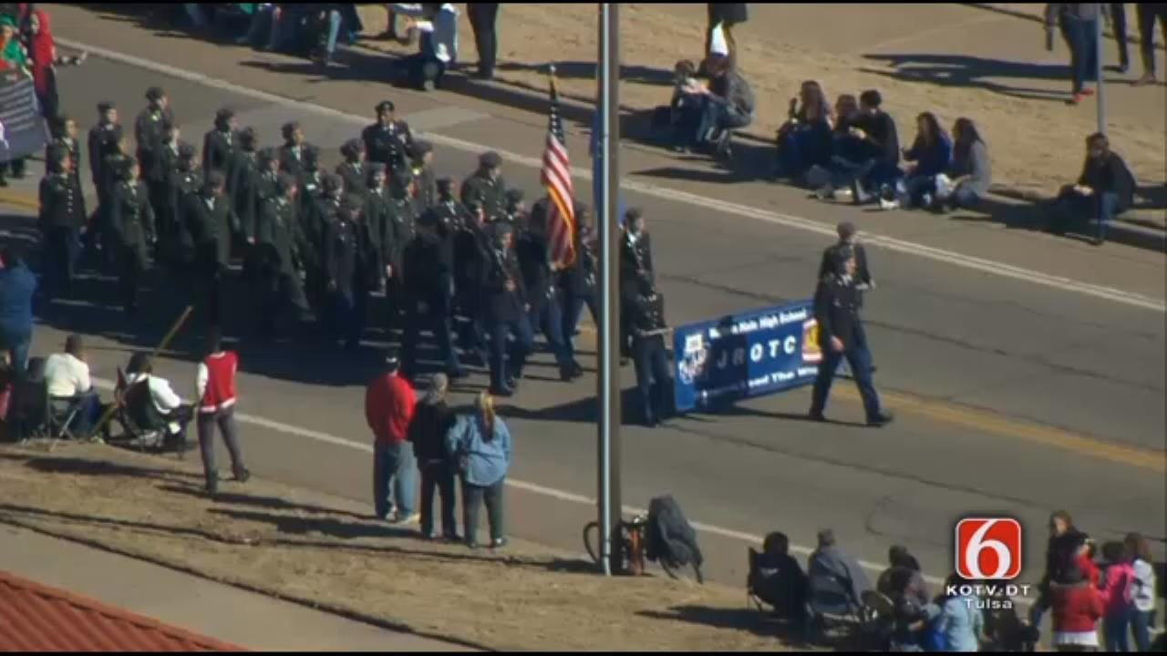 Tulsa's Martin Luther King Parade Honors Civil Rights Leader