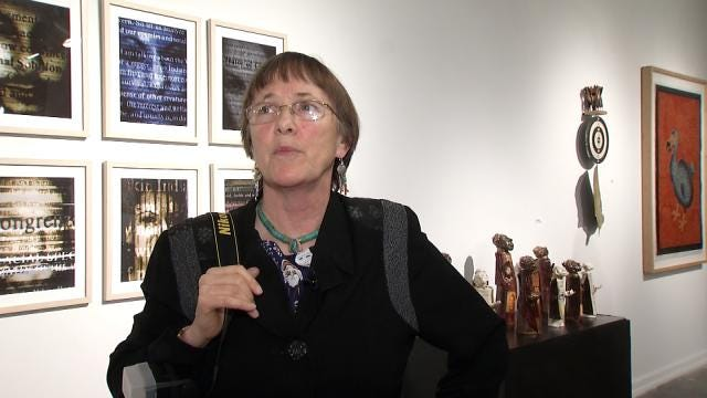 Artists Turn Propaganda Into Art At Tulsa Exhibit
