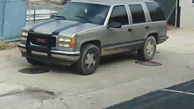Tulsa Police Look For SUV Involved In Flatbed Trailer Theft