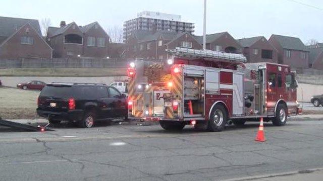 Crash Near Downtown Tulsa Sends Two Drivers To Hospital