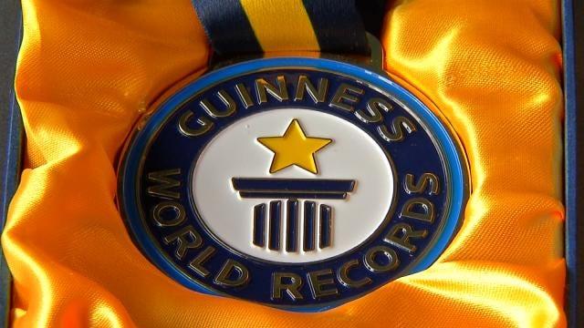 Oklahoma Man Receives 12th Guinness World Record