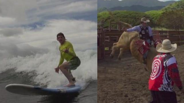 Documentary Brings Surfers, Oklahoma Bull Riders Together