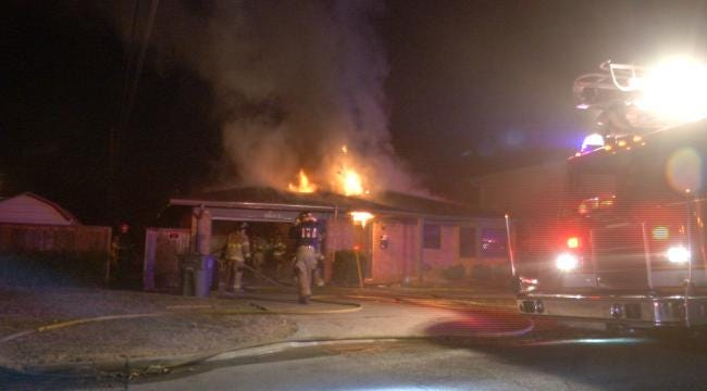 House For Sale In West Tulsa Badly Damaged By Fire
