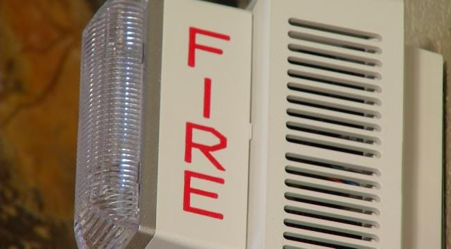 Free Fire Alarm For Hearing Impaired Saves Tulsan's Life