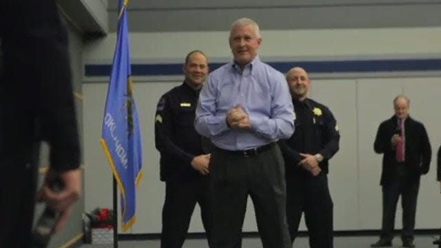 Head Of Newly Formed TPD Foundation Demonstrates New Tasers