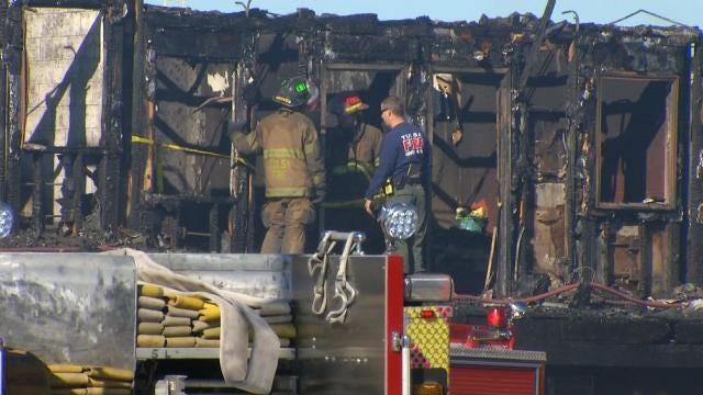 Volunteer Agencies Continue To Help Sapulpa Motel Fire Victims