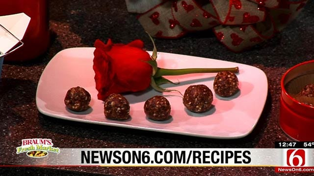 Yummy Cherry Truffles