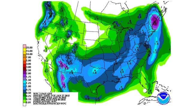 Dick Faurot's Weather Blog: Warm, Windy Wednesday; Cold, Wet By Saturday