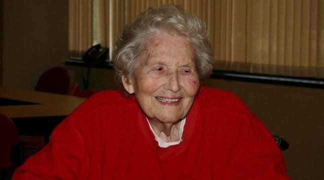 Longtime Tulsa Red Cross Volunteer Marge Creager Dies At 90