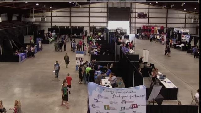 Pittsburg County Students Hold McAlester Tech Expo