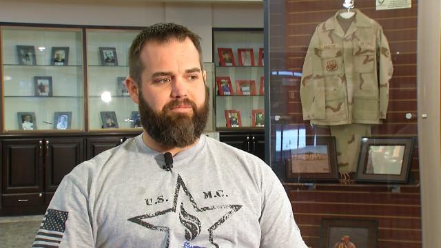 Cherokee Veteran Receives Free Super Bowl Trip