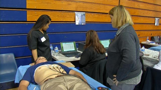Foundation Provides Free Heart Screenings For Tulsa Athletes