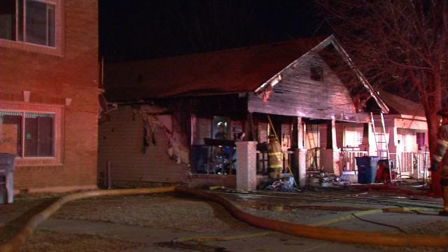 Tulsa Firefighters Credit Barking Dogs With Saving Lives At Duplex Fire