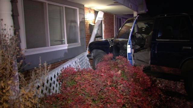 Deputies: Stolen SUV Hits Tulsa House, Teen Driver Leaves ID Behind