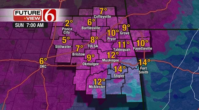 Blast Of Arctic Air Expected To Drop Green Country Temps