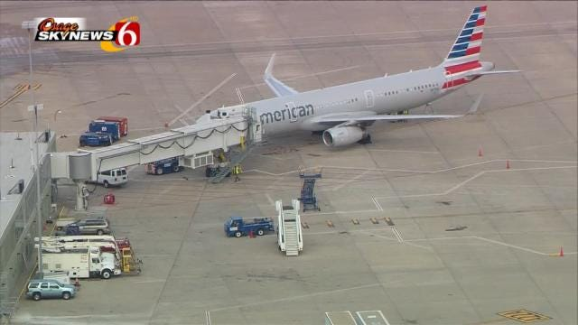 American Airlines Jet Flying From NY To LA Diverts To Tulsa