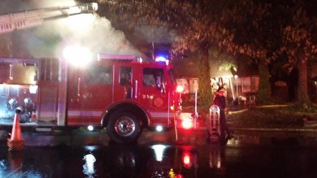 Fire Burns Tulsa Home; Residents Evacuate Safely