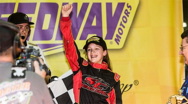 Faccinto Wins 30th Annual Speedway Motors Tulsa Shootout