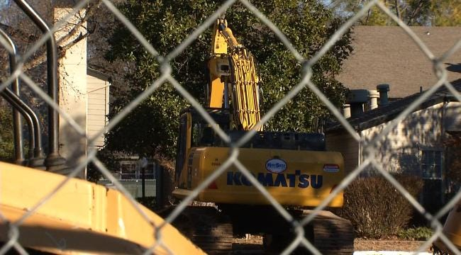 Residents Near Tulsa's Future 'Gathering Place' Brace For Demolition Day
