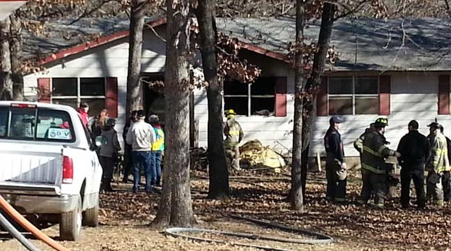 Creek County Homeowner Fights House Fire With Hose Until Firefighters Arrive