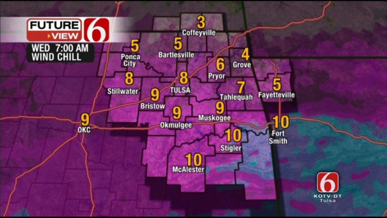 Bundle Up; Coldest Days Of Season Head To Northeast Oklahoma