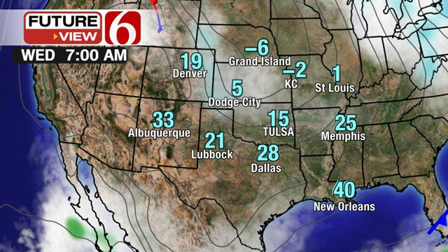 Wind Chill Advisories Issued For NE Oklahoma