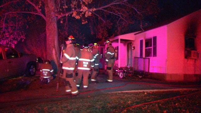 Tulsa Home Damaged By Fire
