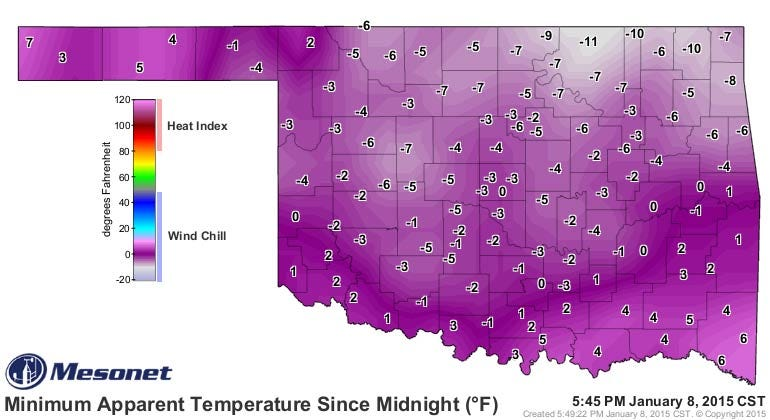 Dick Faurot's Weather Blog: Cold, Windy Friday; Single Digit Wind Chills Expected