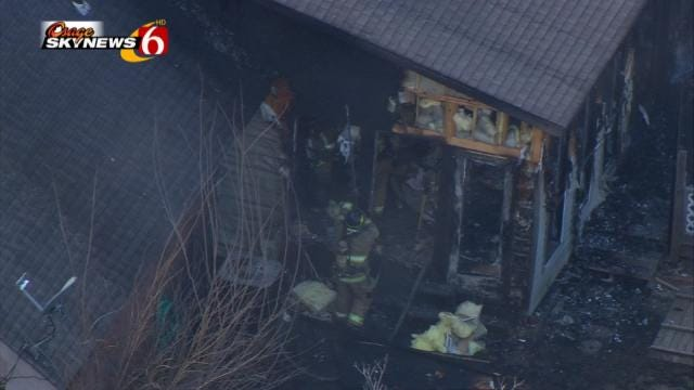 Six People Escape From Burning Tulsa Home