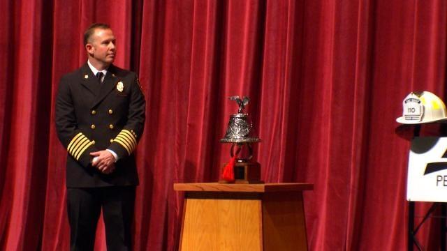 Change Of Command Ceremony Held For New Broken Arrow Fire Chief