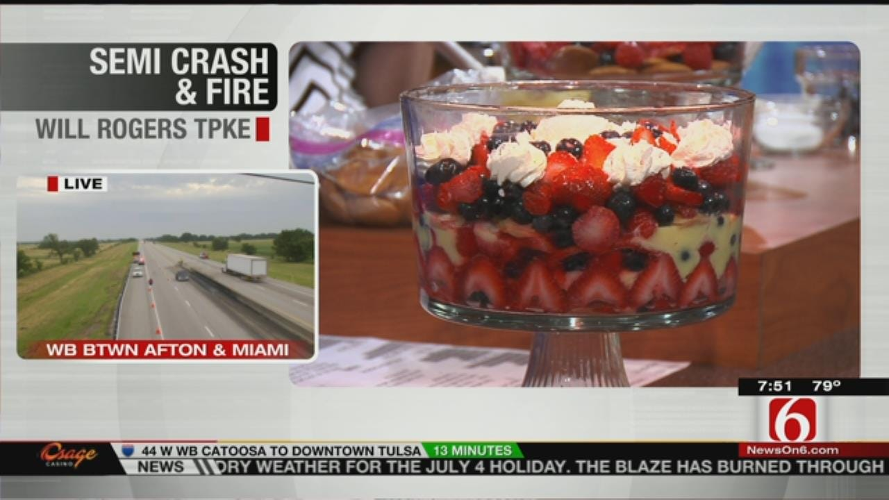 Independence Day Berry Trifle