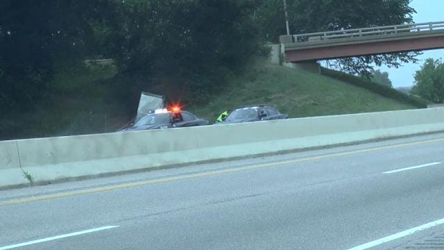 Semi Crash, Fire Closes Section Of Will Rogers Turnpike Near Afton