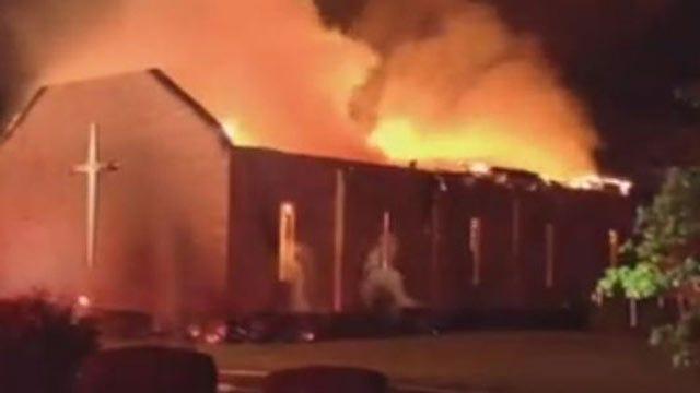 South Carolina Black Church Burns