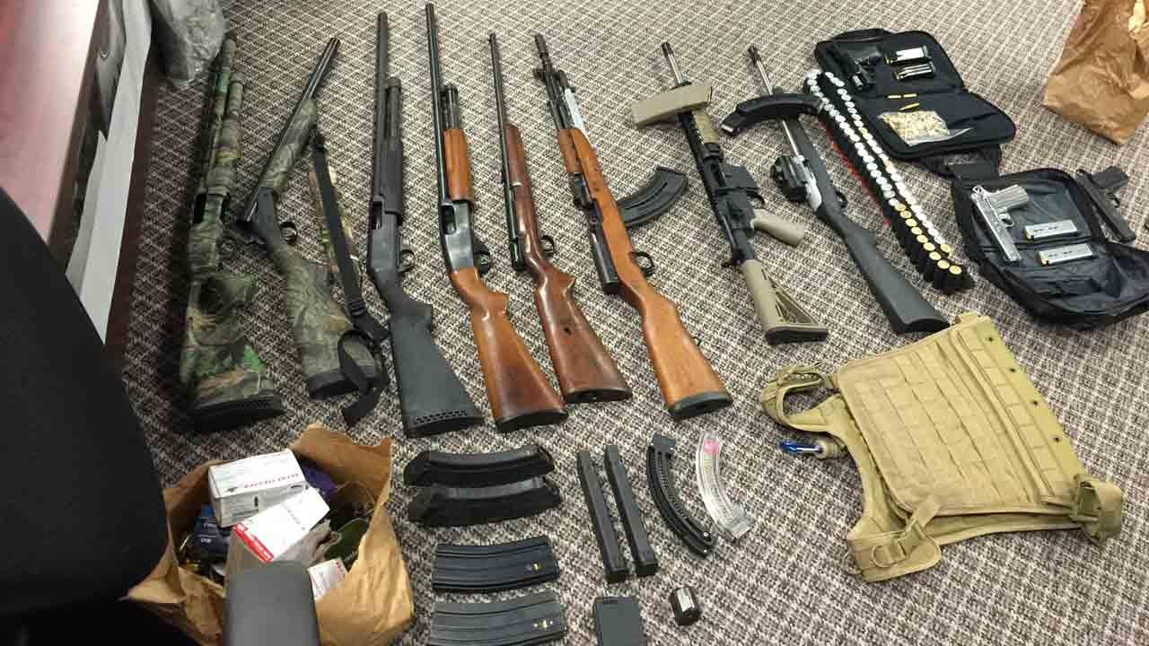 Drugs, Guns, SUV Seized In Muskogee Drug Arrest, Officers Say