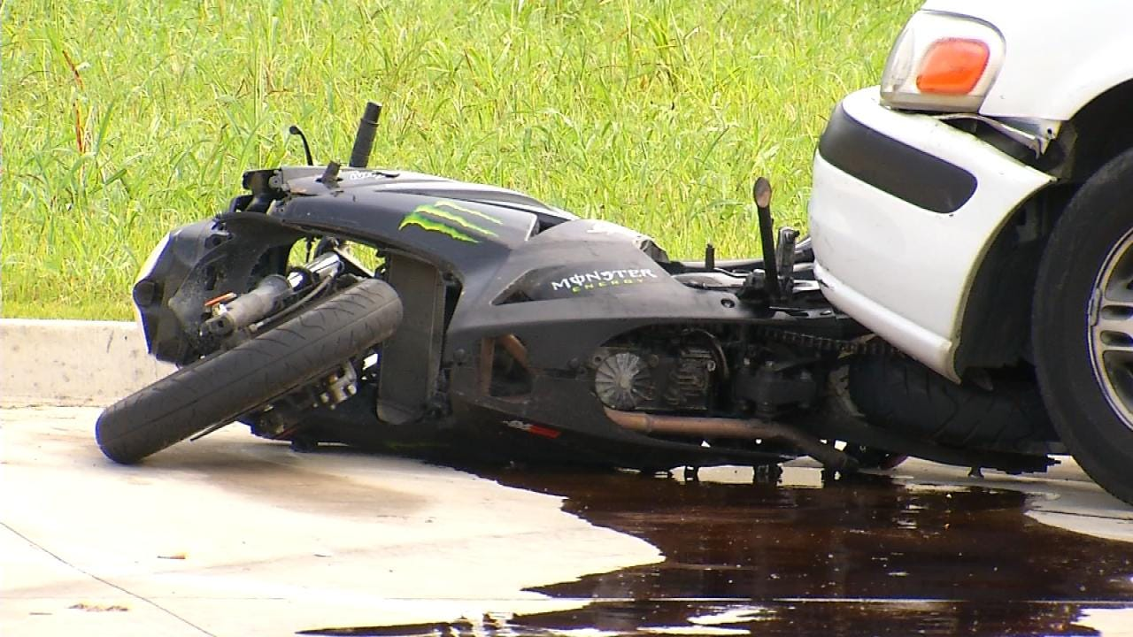 Ex-Girlfriend Arrested For Plowing Into Motorcycle Rider