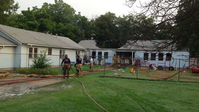 Fire Damages North Tulsa Child Care Center