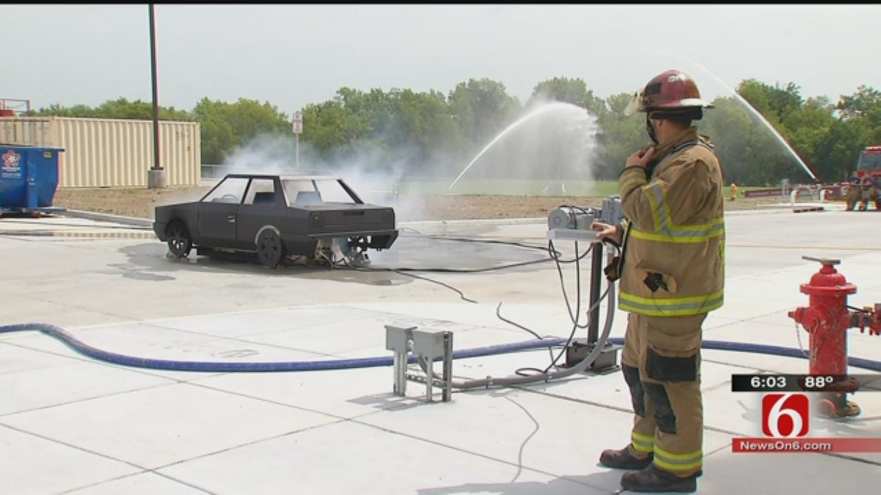 Training Facility Raises Bar For Fighting Fires In Green Country