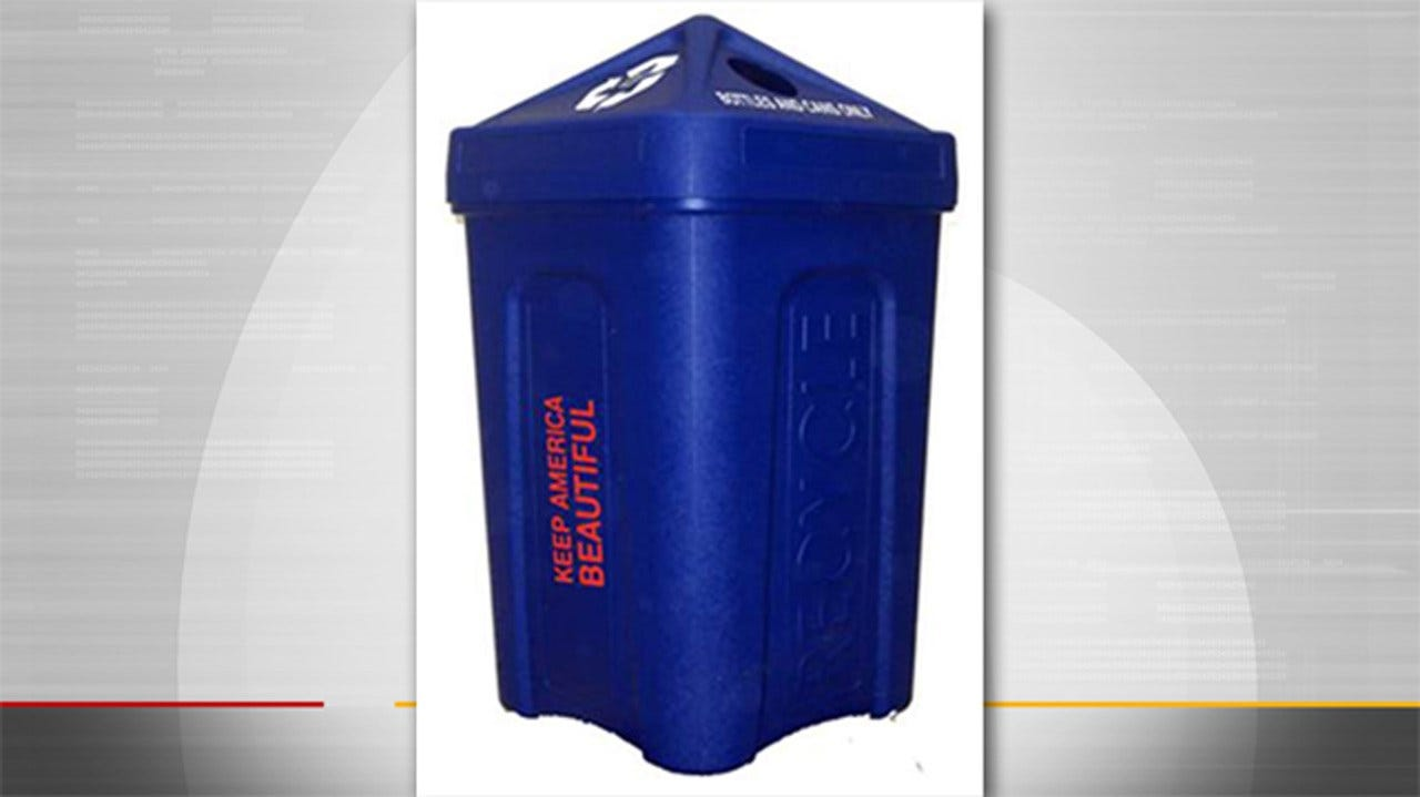 Tulsa Awarded Grant Of Recycling Bins