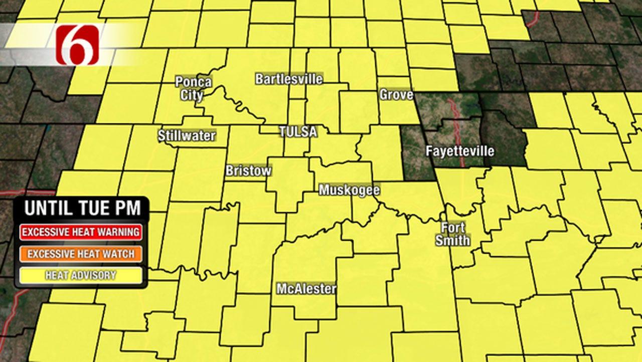 Alan Crone's Weather Blog: Heat Advisories This Week