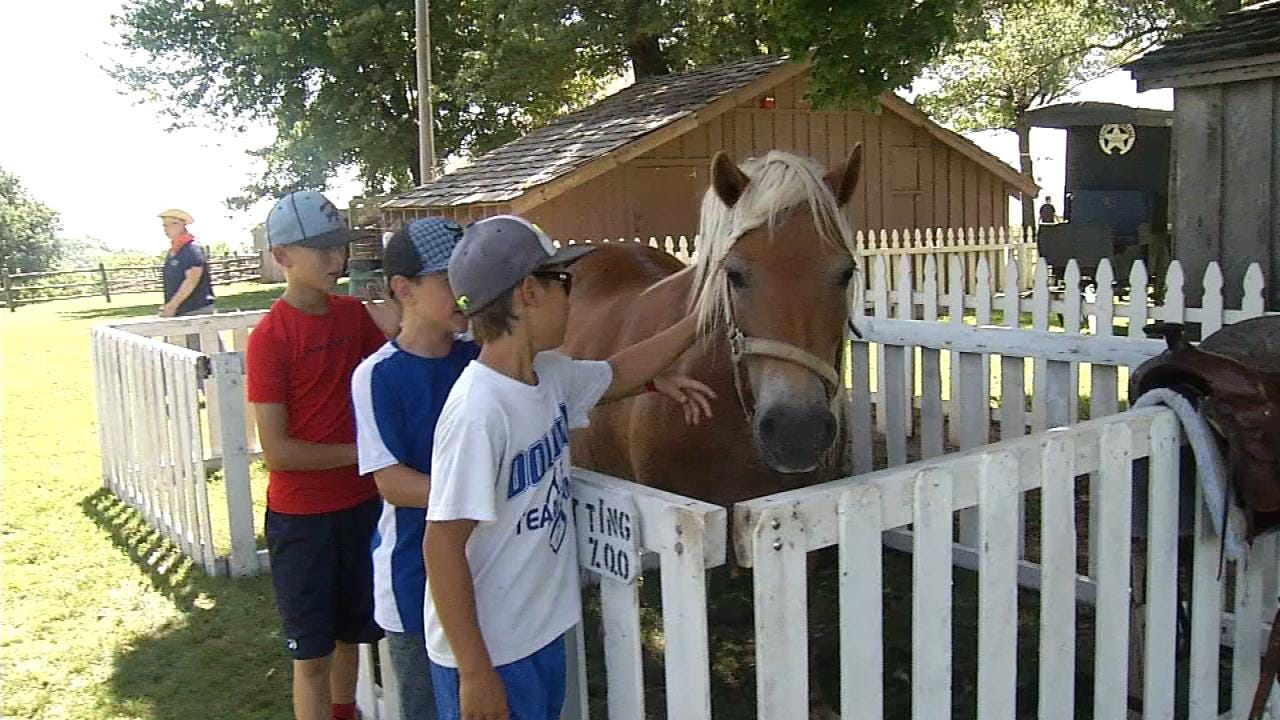 Kids Return To Frontier Days At Will Rogers Ranch In Oologah