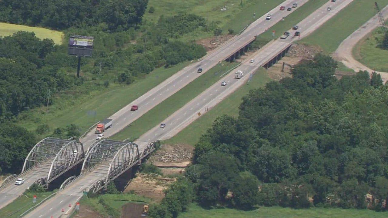 Progress On Highway 169 Bird Creek Bridge Replacement Project