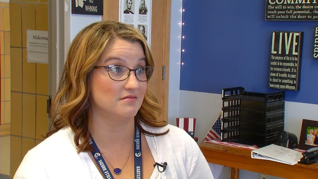 Bartlesville Teacher Uses Birthday Money To Enhance Learning Environment