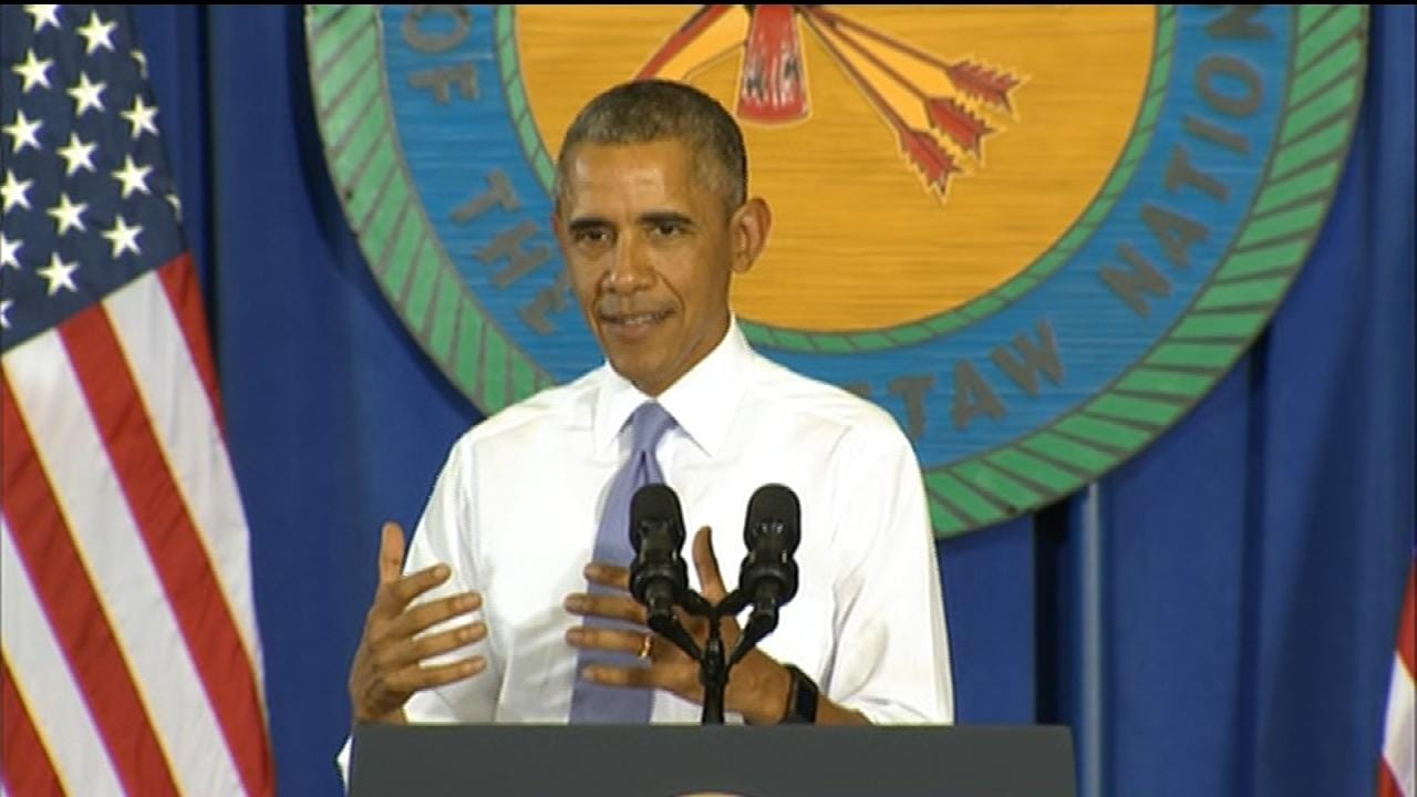 President Speaks In Durant; Lays Out Plan To Expand High-Speed Internet