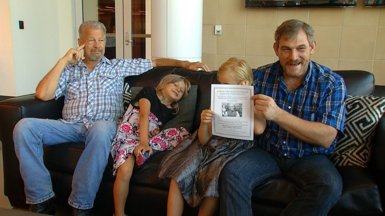 Tulsa Widower Pushing To Lower Age For Mammogram Coverage