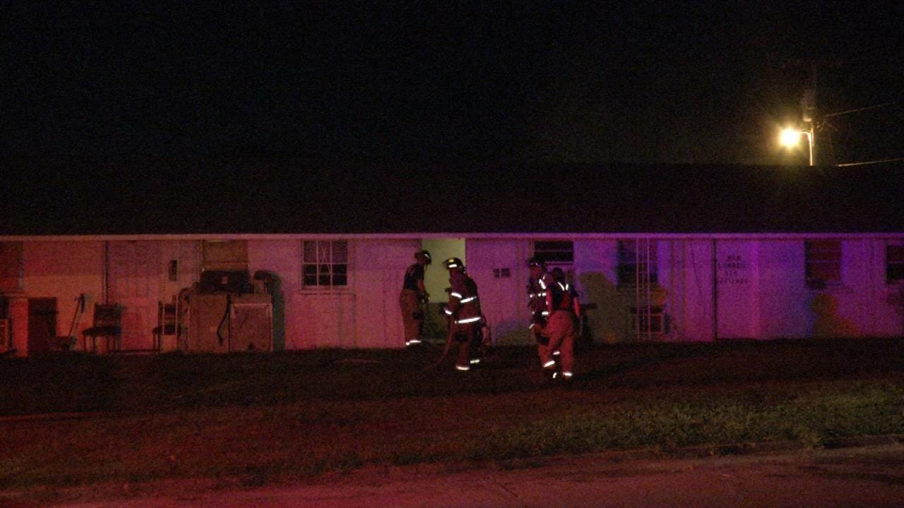 Downtown Tulsa Apartment Damaged In Fire