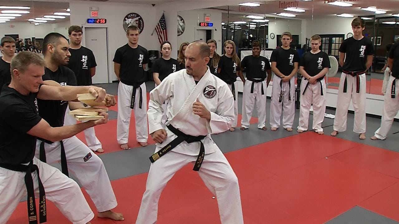 Local Tae Kwon Do Instructor Attempts To Reach Masterful Heights