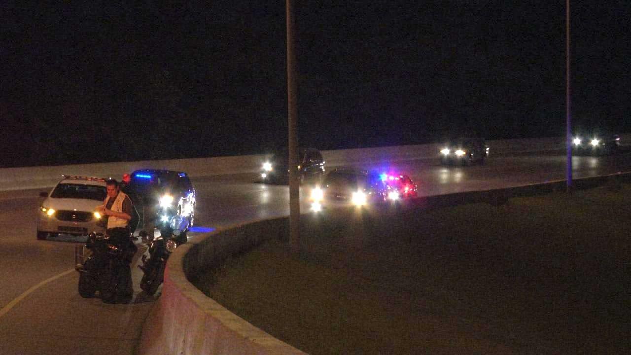 Motorcyclist Killed In High-Speed Tulsa Wreck