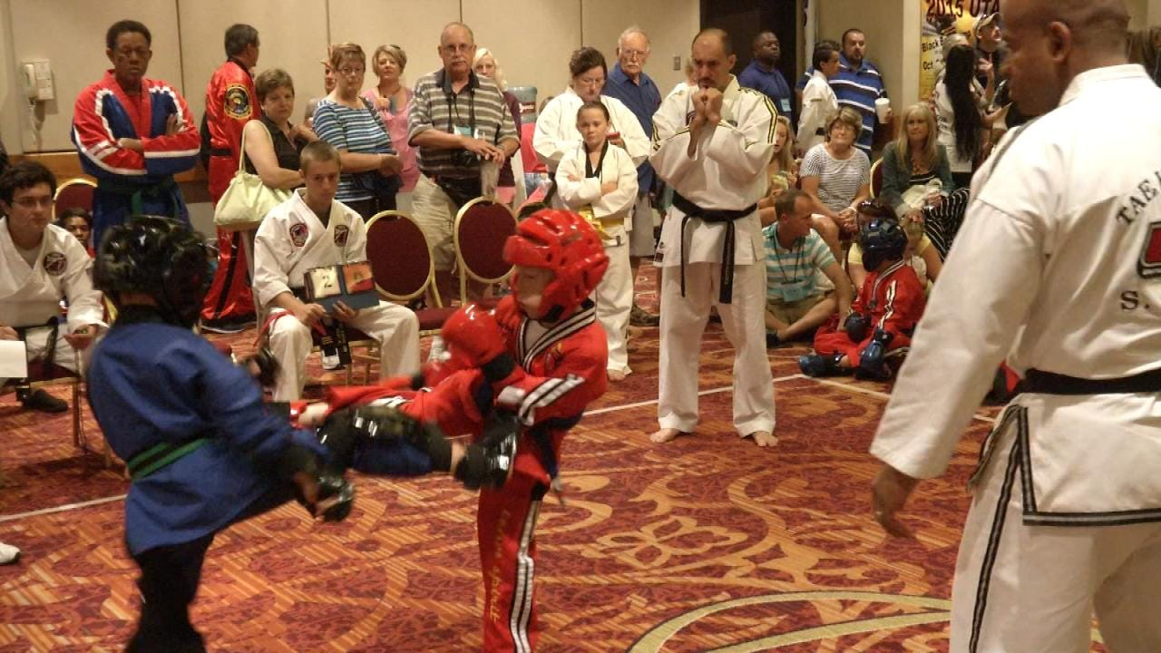 Tulsa Tekwondo Tournament Raises Funds For Make-A-Wish