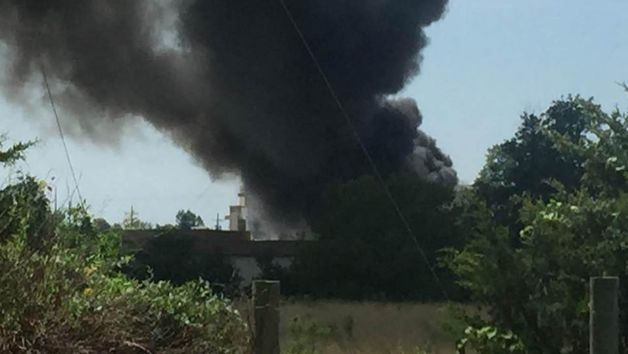 Fire Breaks Out At KAMO Power In Vinita